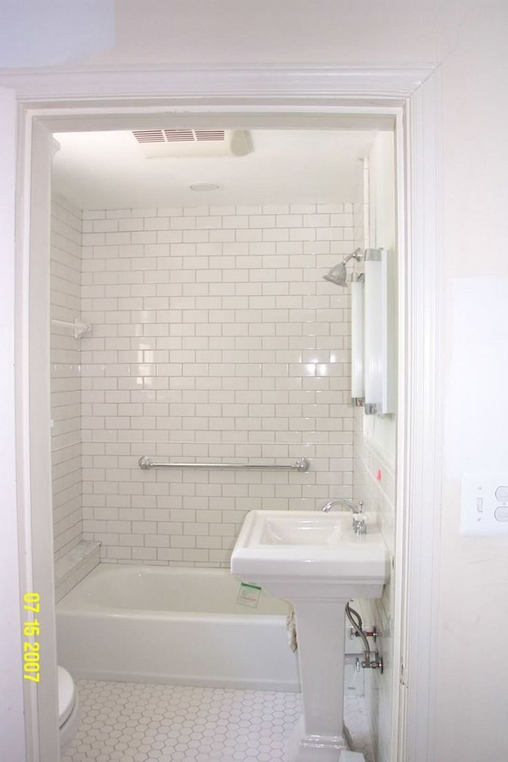 White Subway Tile Bathroom 018 (White Subway Tile Bathroom 018) design ideas and photos