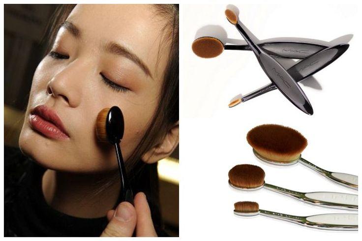 Insolite : découvrez les pinceaux de maquillage nouvelle génération #pinceau #maquillage #mac #brush #makeup #artis