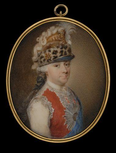 szef gwardii konnej koronnej Kazimierz ks.Poniatowski
