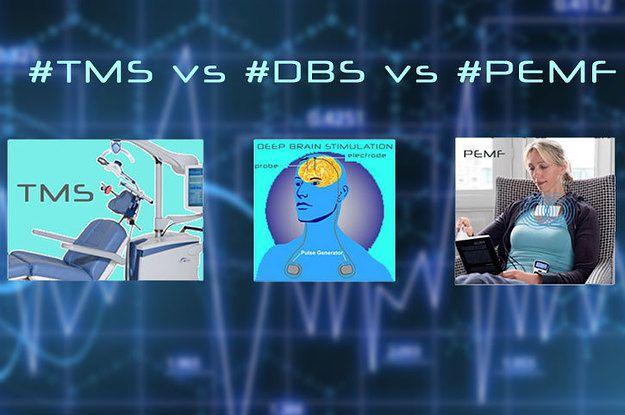 Compare best Brain Stimulation technologies - #TMS vs #DBS vs #PEMF -  https://www.buzzfeed.com/superhumantech/tms-therapy-vs-deep-brain-stimulation-vs-pemf-2vx3w