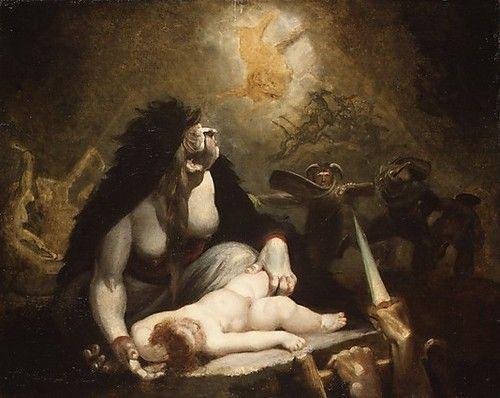Резултат с изображение за night hag visiting lapland witches