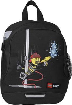 LEGO City Fire Σακίδιο Νηπιαγωγείου (073720). Mεγάλη κεντρική θήκη με φερμουάρ Πλαϊνός αποθηκευτικός χώρος με...