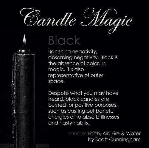 Candles:  #Candle Magic ~ Black.