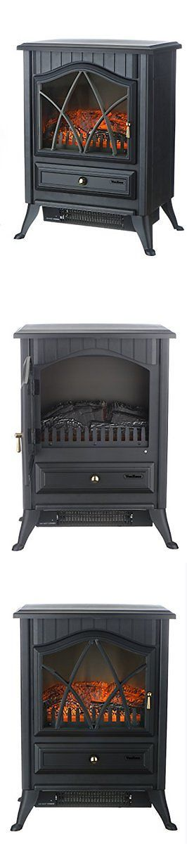 Space Heaters 20613: Vonhaus 1500W Portable Electric Stove Heater Fireplace Space Heater -> BUY IT NOW ONLY: $125.95 on eBay!