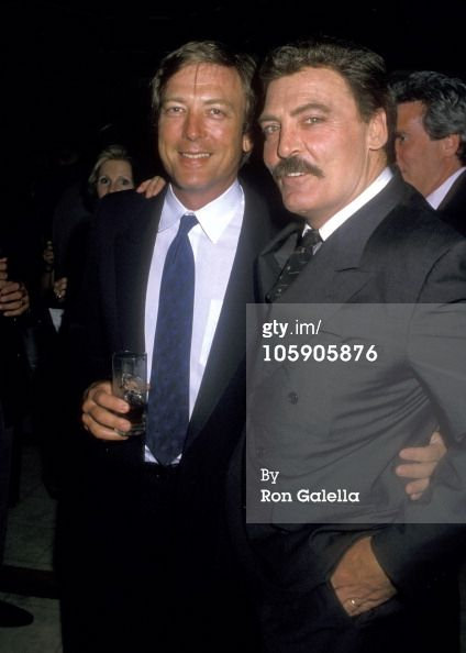 James Keach with his older brother Stacy Keach.