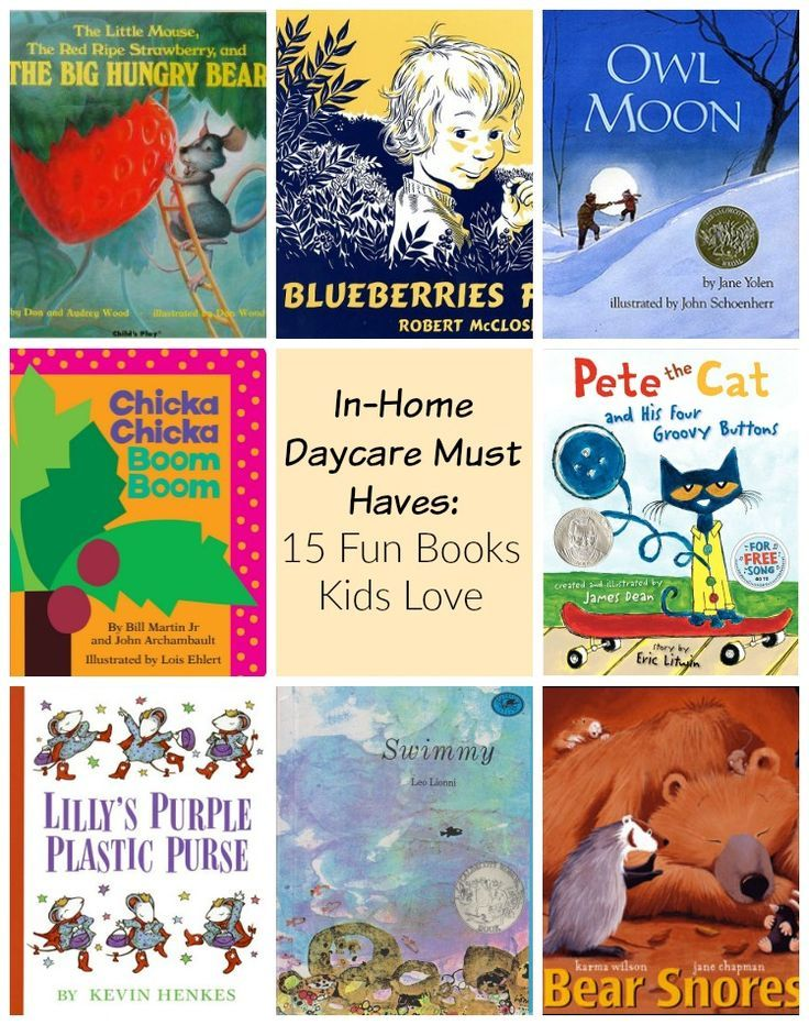 Top Stories for Kids! 15 books every in home daycare should have.