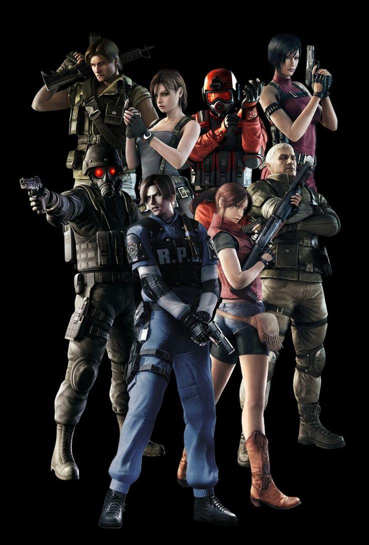 Pin de Mulyana Nana en Resident Evil