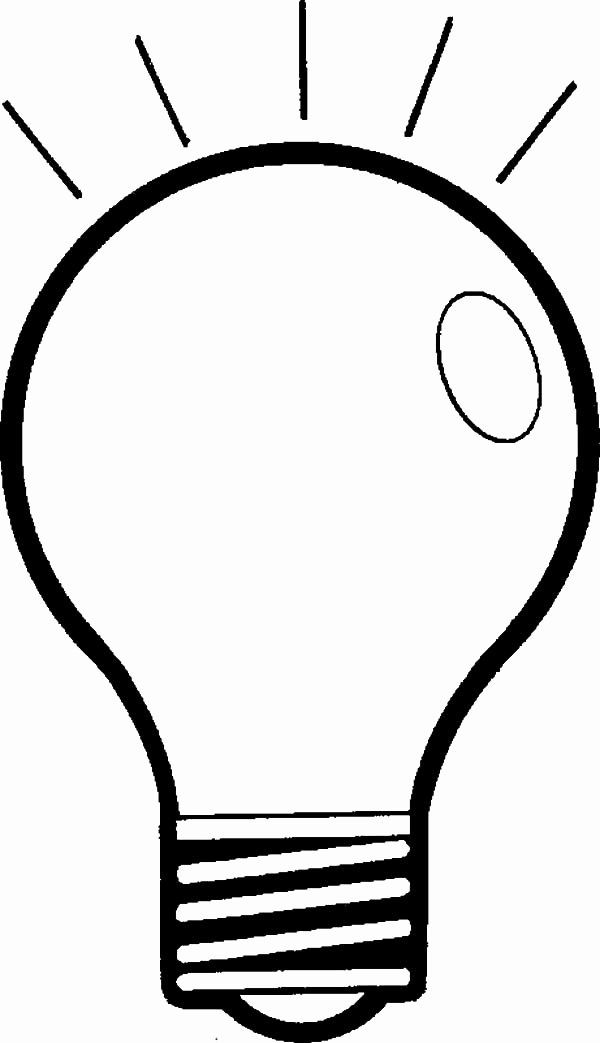 32 Light Bulb Coloring Page In 2020 Online Coloring Pages