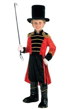 Child Ring Master Costume by Fancy Dress Ball