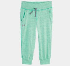 under armour pants for girls. girls\u0027 ua tri-blend capri under armour pants for girls