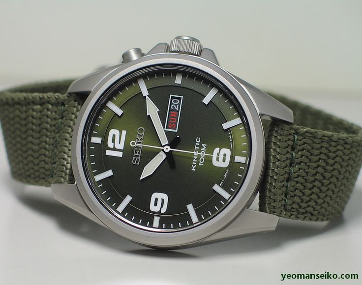 I posted the black military style Seiko Kinetic (SMY143P) in my previous blog entry. The 5M83 kinetic movement has a power reserve of approximately six months when fully charged. I believe you can …