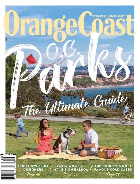 Orange Coast magazine   June 2017   O.C. Parks   Designed by Mindy Benham
