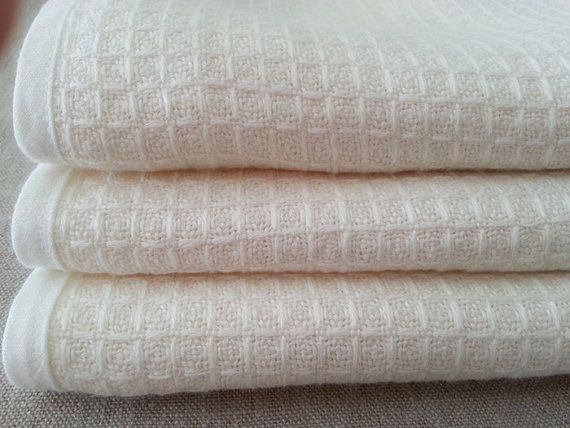 Linen Waffle Towels Wash Towel, Face Towel, Bath Towel, linen towel set, thick and soft linen fabric, custom size