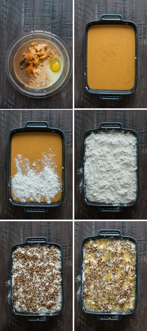 Pumpkin Dump Cake - This is our favorite fall dessert and I can't believe how easy it is to make!