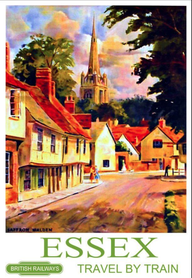 Essex travel poster