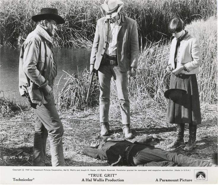 John Wayne True Grit Cast Photo