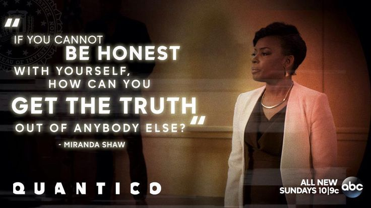 """S1 Ep1 """"Run"""" - Think about who you are. #Quantico"""