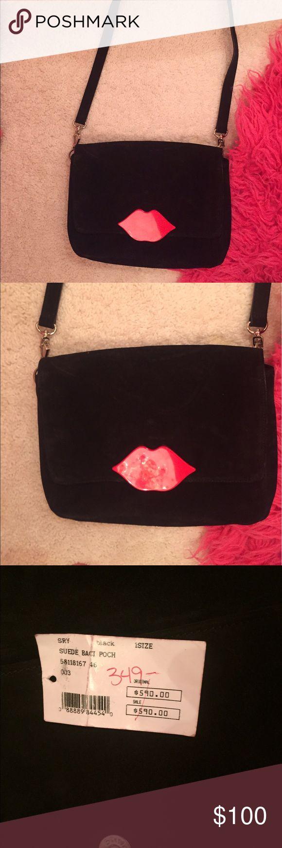 Sonia Rykel Lips Bag Purchased at Intermix Sonia Rykiel Bags Mini Bags