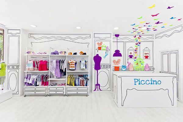 Adorable cartoon-like children's store design