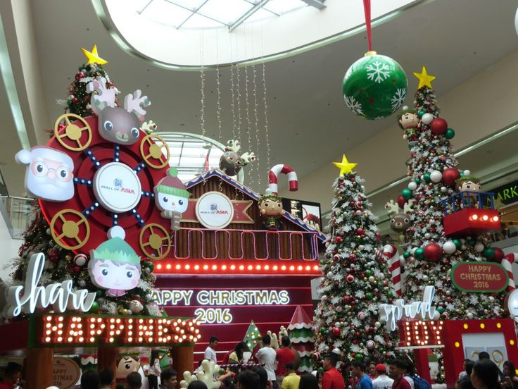 The Christmas Display at SM Mall of Asia