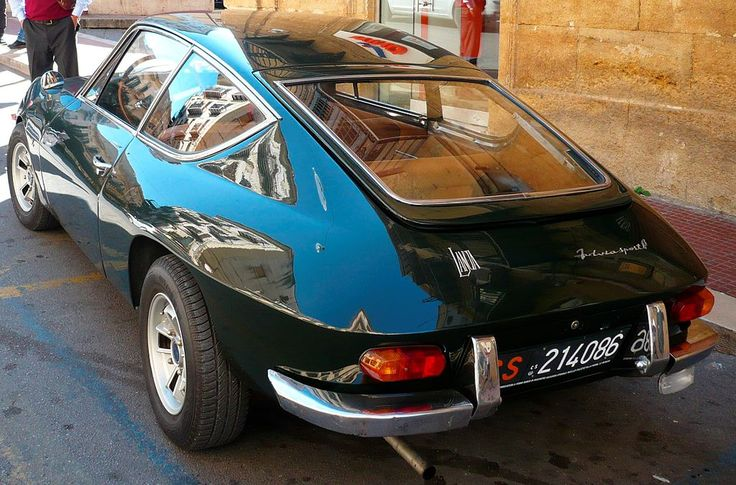 Lancia Fulvia Sport 1,3 Zagato 1968
