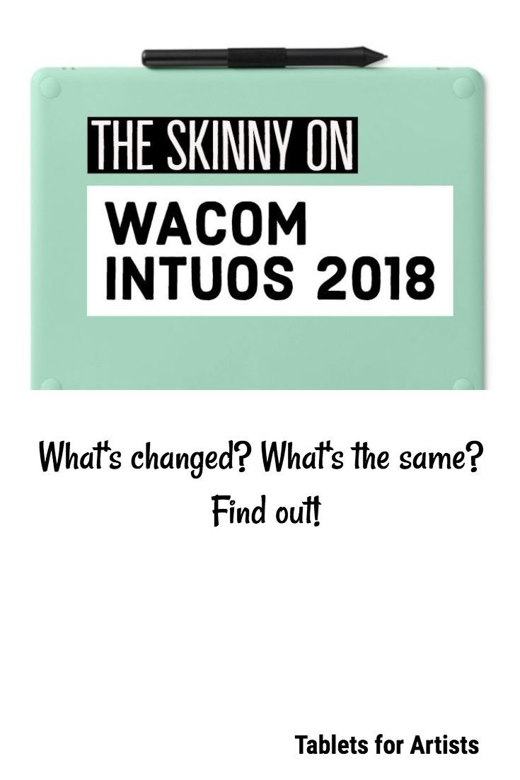 New Wacom Intuos 2018: Can't touch this | Art tablet reviews