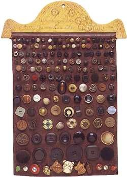 Button collection, about 1935