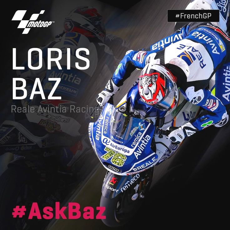 Ever wanted to ask @lorisbaz a question? Well here's your chance! // Use #AskBaz & leave a comment below for a chance to have your question answered by him in Thursday's pre-event press conference! #FrenchGP 👇 Repost by @motogp
