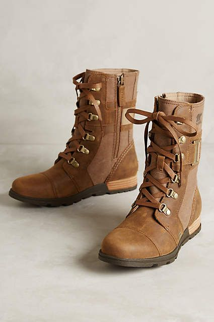 Sorel Major Carly Boots in Nutmeg | Anthropologie