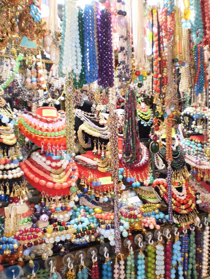 Bead Shop - Grand Bazaar, Istanbul / Turkey