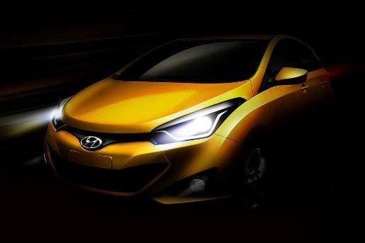 Hyundai libera fotos e video do novo HB20 [New Hyundai HB20 Brazil]