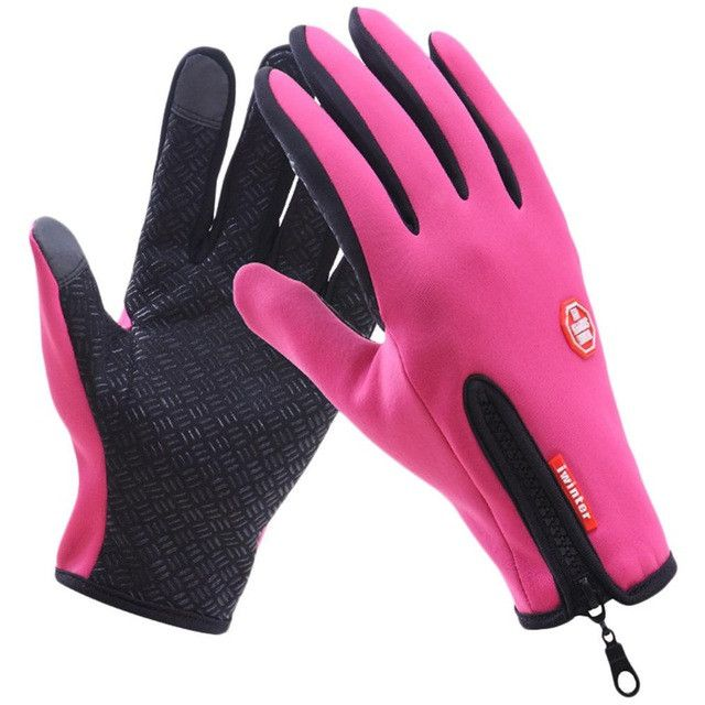 Waterproof Cycling Gloves Women Men Snowboard Ski Gloves Motorcycling Touchscreen Winter Snow Windstopper Outdoor Riding Gloves