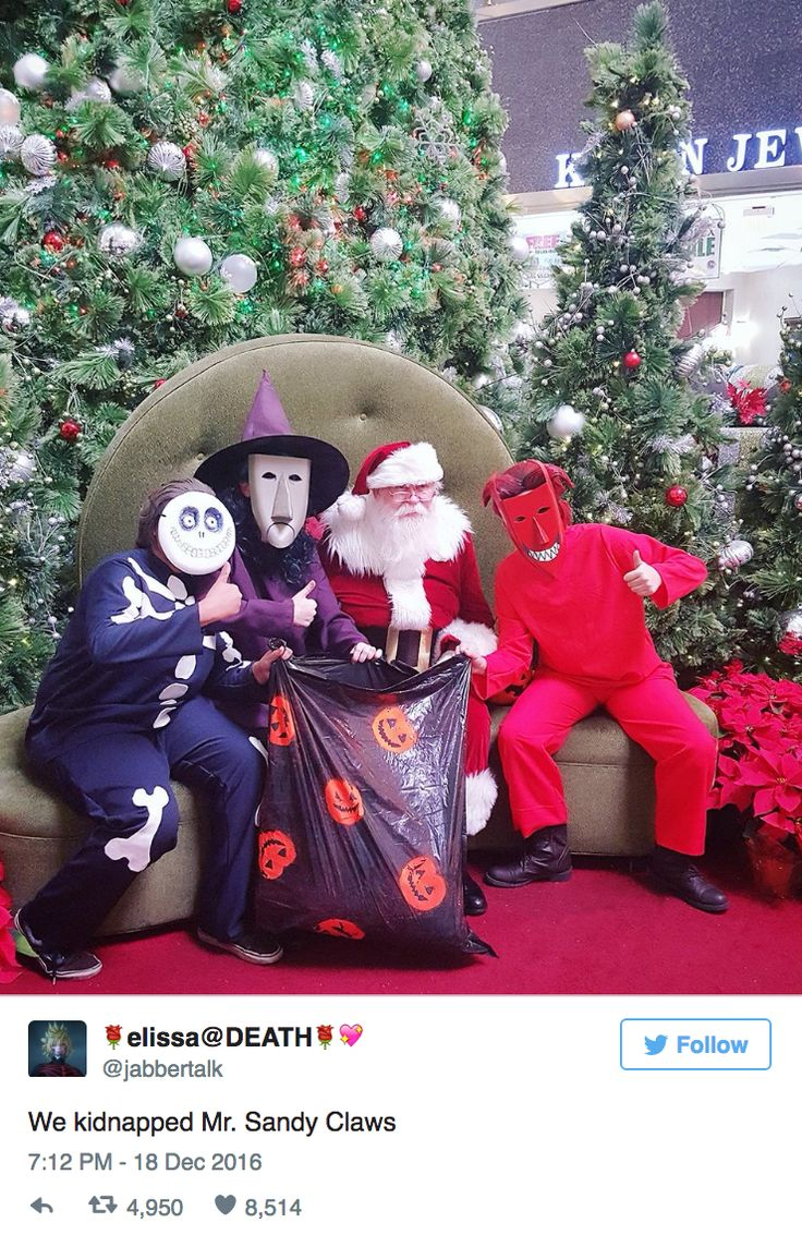 These Cosplayers Pulled a Nightmare Before Christmas Prank