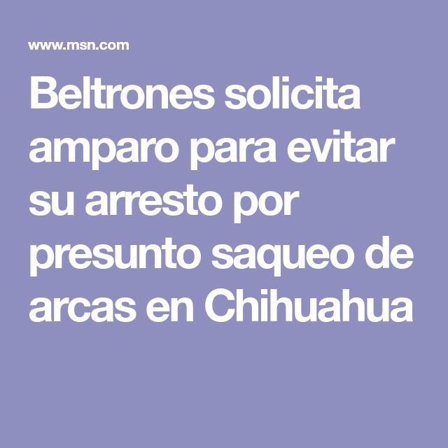 Beltrones solicita amparo para evitar su arresto por presunto saqueo de arcas en Chihuahua