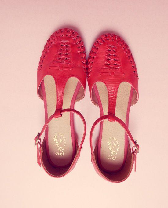 Seychelles sandals. (The New Domestic)