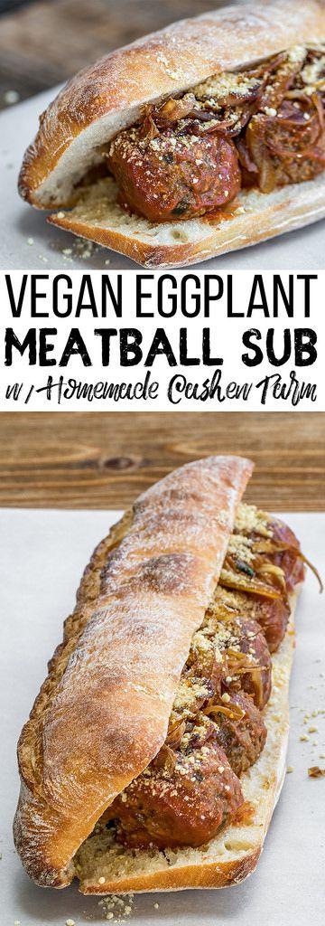 Vegan Meatball   Vegan Sandwich   OIl-free Vegan   Easy Vegan   Caramelized Onions