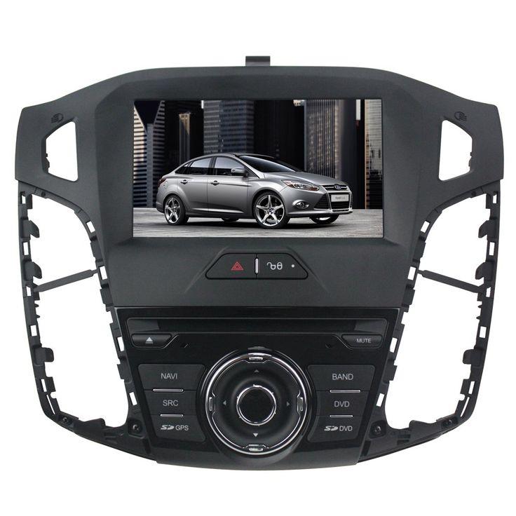 Tyso For Ford Focus year 2012 8 inch Indash CAR DVD Player GPS Navigation Navi iPod Bluetooth HD Touchscreen TV Radio RDS FM PIP Free Map CDA150