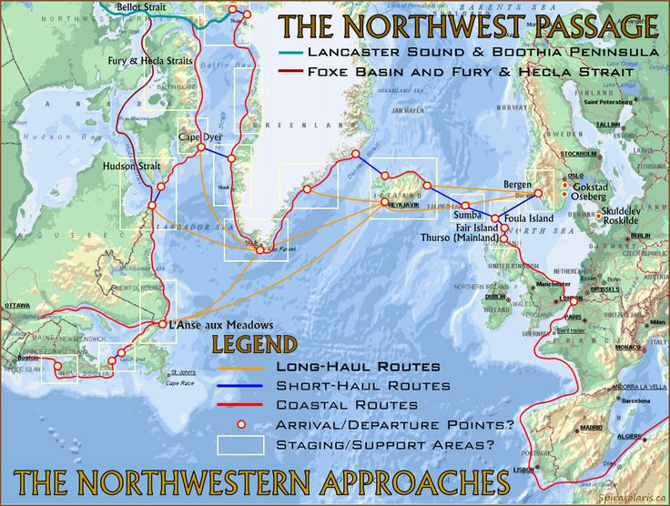 THE LAST VIKING: Part 2. West by North West