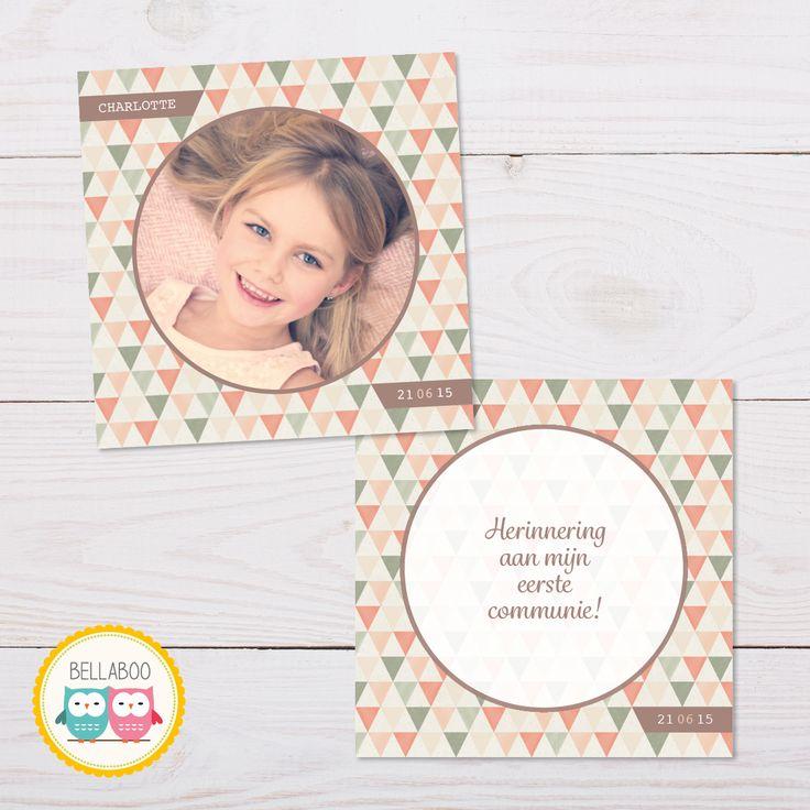 Communie- en lentefeest kaartjes, bekijk de collectie op www.bellaboo.be