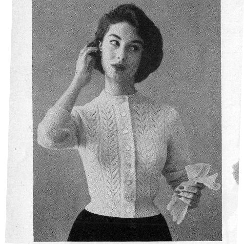 170 best knitted cardigans jacket pattern images on pinterest this cardigan knitting pattern has a pattern stitch that mimics vertical rows of leaves a dt1010fo