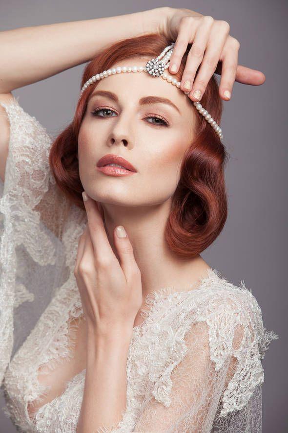 "Pictorial ""Fii speciala in ziua nuntii"" - ele.ro Styling: Milona Rac-Hristov  Headpiece: ""Glamour Heads"" from ""Ana Morodan for Statement Jewelry"" Collection"