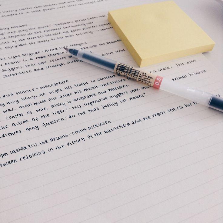 neat writing