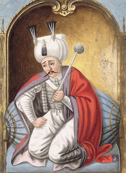 """Selim I nicknamed Yavuz """"the Stern"""" or """"the Steadfast"""", but often rendered in English as """"the Grim"""""""