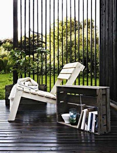 Pallet Lawn Chair