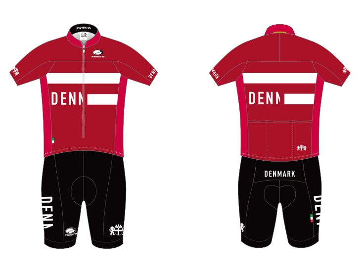 Denmark's 2016 Rio Olympics cycling kit. The best design of all the countries I think