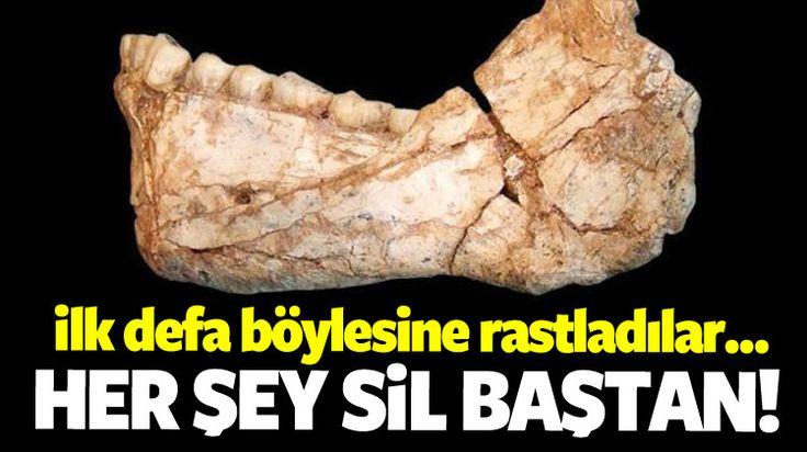 Bilim dünyasını derinden sarsacak bir gelişme yaşandı. Fas'ta 300 bin yıllık insan iskeleti kalıntısı bulunduğu bildirildi.