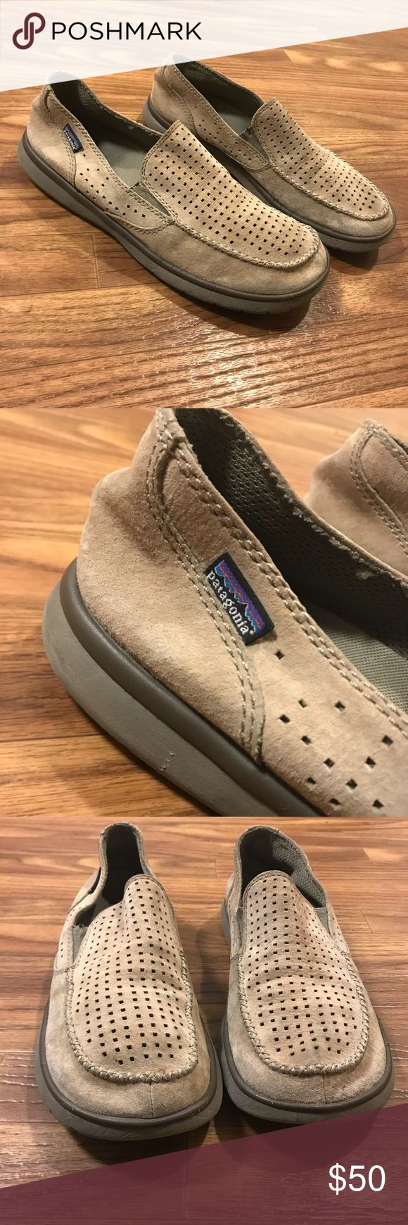 Patagonia Maui Air slip ons Used  In good conditions  Pet and smoke free home  Ventilated pigskin leather  This shoe has been retired  Extremely comfortable and breathable Patagonia Shoes Loafers & Slip-Ons