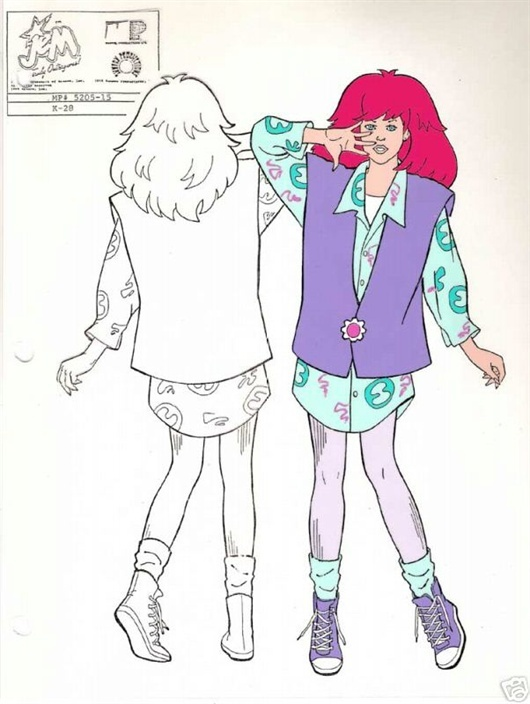 Jem and the Holograms - Kimber Model Cel