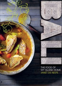 Bali: The Food of My Island Home by expat Australian chef Janet De Neefe. Read our review > http://www.visitvineyards.com/tours/books-guides-travel/wine-food-travel-book-reviews/book-review-bali-the-food-of-my-island-home-by-janet-de-neefe