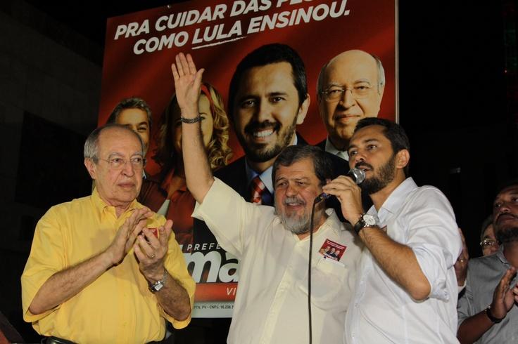 O PR transformou sua sede no Comitê da Sociedade Civil, inaugurado com muita alegria nesta segunda (27). #Elmano13doPT